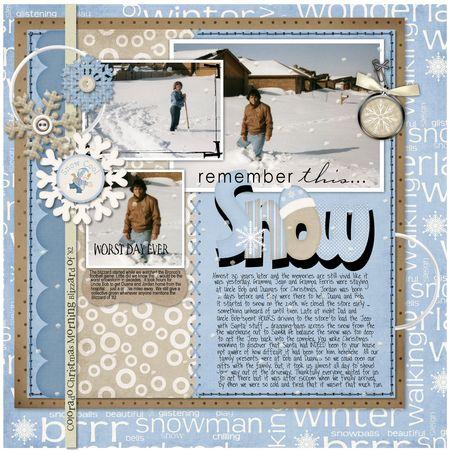 OLW - Snow
